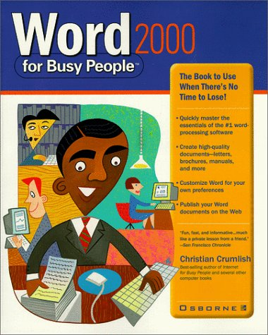 9780072119824: Word 2000 for Busy People