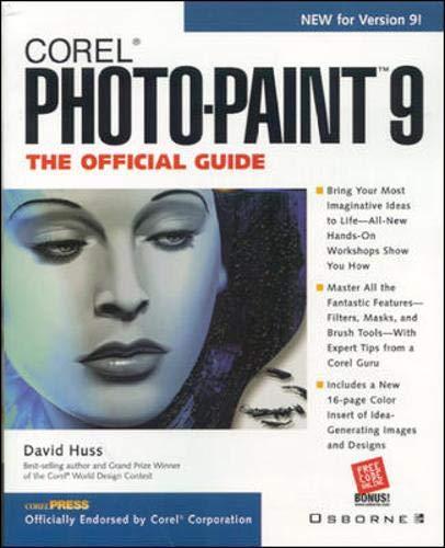 9780072119855: Corel PHOTO-PAINT 9: The Official Guide