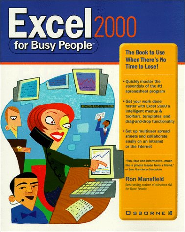 9780072119886: Excel 2000 for Busy People