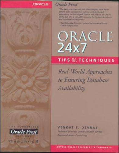 9780072119992: Oracle 24x7 Tips and Techniques