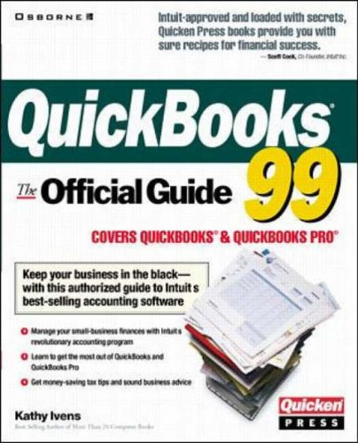 9780072120035: QuickBooks 99: The Official Guide