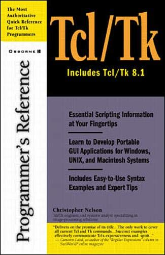 9780072120042: Tcl/Tk Programmer's Reference
