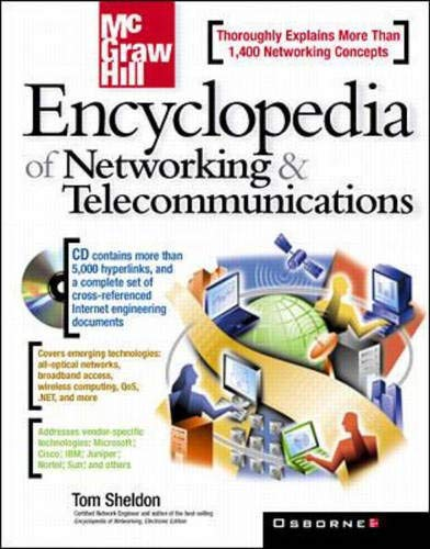 9780072120059: McGraw Hill's Encyclopedia of Networking and Telecommunications with CDROM (Network Professional's Library)
