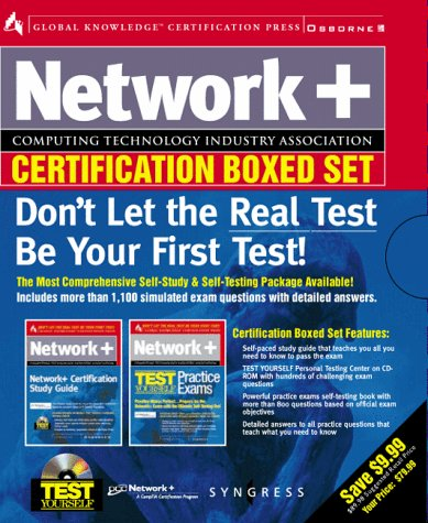 9780072120332: Network+ Certification Boxed Set