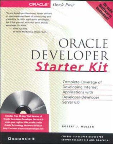 9780072120479: Oracle Developer Starter Kit
