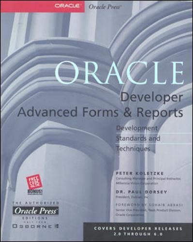 9780072120486: Oracle Developer Advanced Forms & Reports (Oracle Press Series)