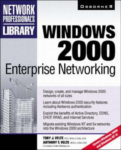 9780072120493: Windows 2000 Enterprise Networking (Network Professional's Library)