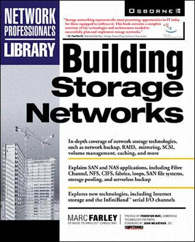 9780072120509: Building Storage Networks (Network Professional's Library)