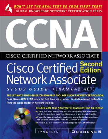 9780072120707: CCNA Cisco Certified Network Associate Study Guide: Exam: 640-407 [With Includes Personal Testing Center Software]