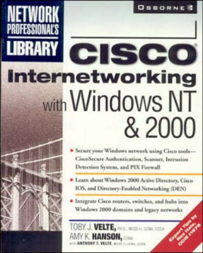 9780072120837: Cisco Internetworking with Windows NT and 2000 (Network Professional's Library)