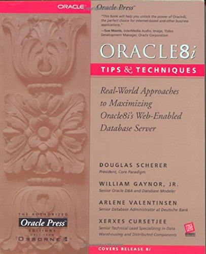 9780072121032: Oracle8i Tips & Techniques