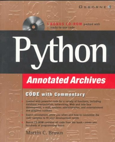 9780072121049: Python Annotated Archives