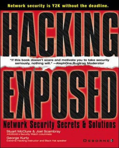 9780072121278: Hacking Exposed: Network Security Secrets and Solutions (Network Professional's Library)