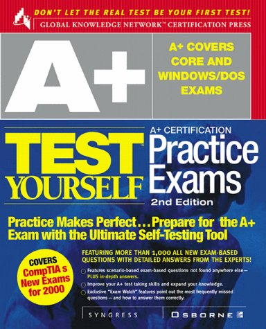 9780072121315: A+ Certification Test Yourself Practice Exams