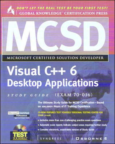 9780072121346: MCSD Visual C++ Desktop Applications Study Guide