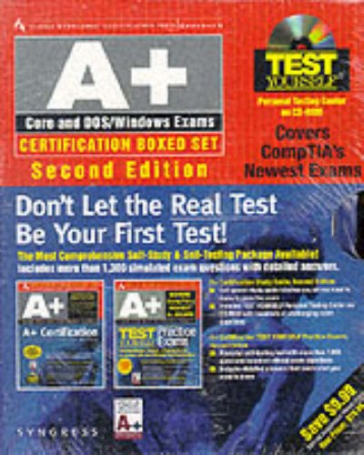 9780072121384: A+ Core and Dos/Windows Exams (Certification Press)