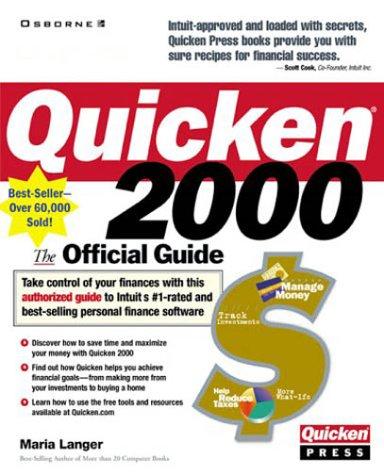 9780072121407: Quicken 2000: The Official Guide (Quicken Press)
