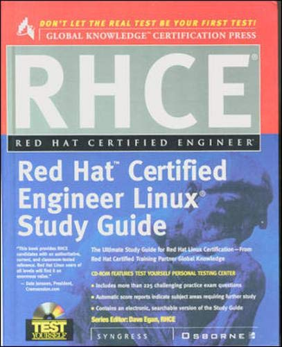9780072121551: Rhce Red Hat Certified Engineer Study Guide