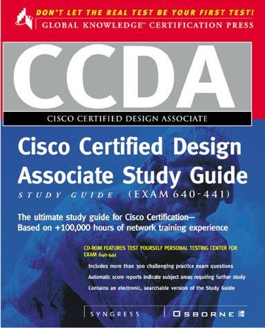 9780072121599: CCDA Cisco Certified Design Associate Study Guide (Exam 640-441) (Book/CD-ROM package)