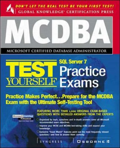 9780072121827: MCDBA SQL Server 7 Certification Boxed Set (Certification Press Study Guides)
