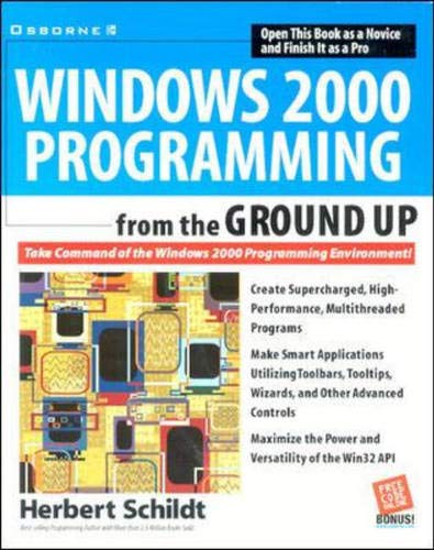 9780072121896: Windows 2000 Programming from the Ground Up