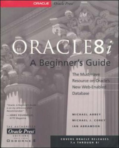 9780072122046: Oracle 8i: A Beginner's Guide