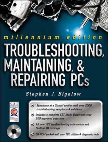 9780072122237: Troubleshooting, Maintaining & Repairing PCs, Millennium Edition