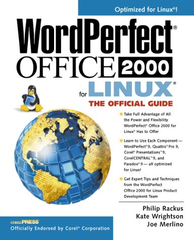 9780072122381: WordPerfect Office 2000 for Linux: The Official Guide