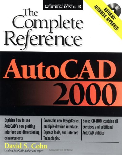 9780072122411: Autocad 2000: The Complete Reference