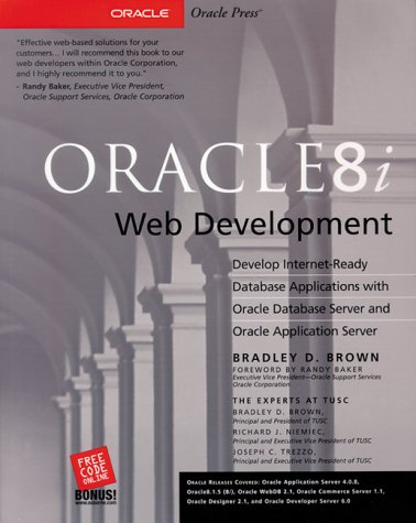9780072122428: Oracle8i Web Development