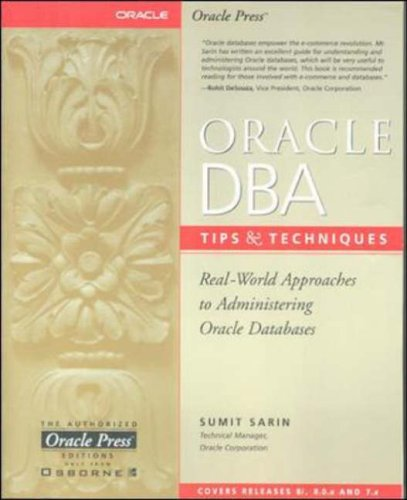 9780072122459: Oracle DBA Tips and Techniques