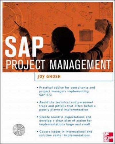 9780072122541: SAP Project Management (ERP)