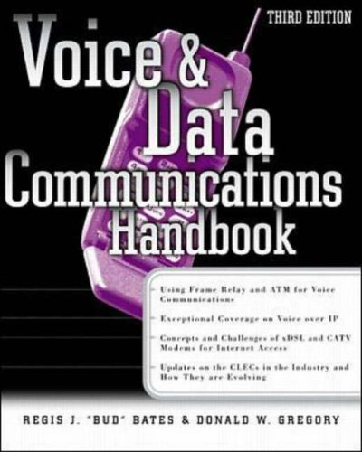 9780072122763: Voice and Data Communications Handbook (Networking Series)