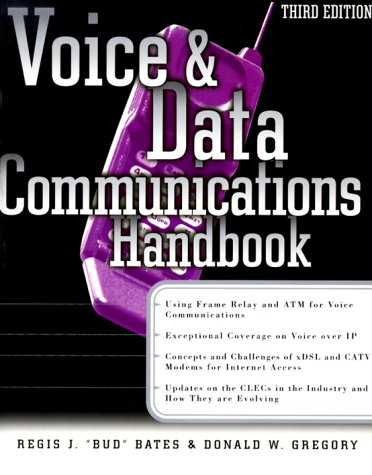 9780072122763: Voice & Data Communications Handbook