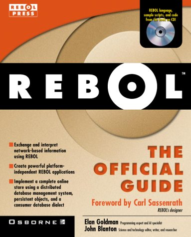 9780072122794: REBOL: The Official Guide (Book/CD Package)