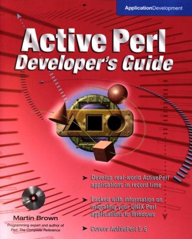 9780072123395: ActivePerl Developer's Guide