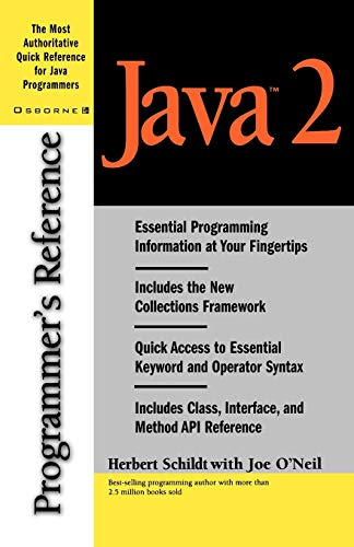 9780072123548: Java 2 Programmer's Reference