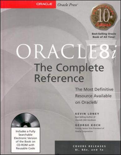 9780072123647: Oracle8i: The Complete Reference (Book/CD-ROM Package)