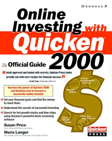 9780072123920: Online Investing with Quicken 2000