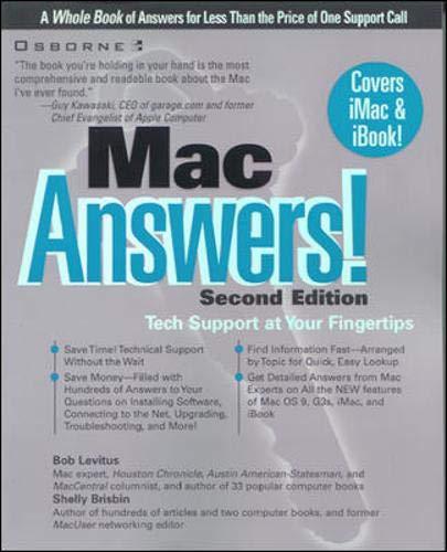 9780072123999: Mac Answers!