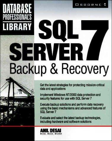 9780072124101: SQL Server 7 Backup & Recovery