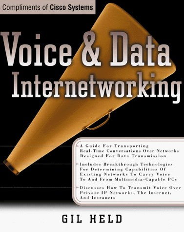 9780072124293: Voice and Data Internetworking