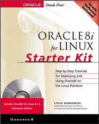 9780072124422: Oracle8i for Linux Starter Kit (Book/CD-ROM Package)