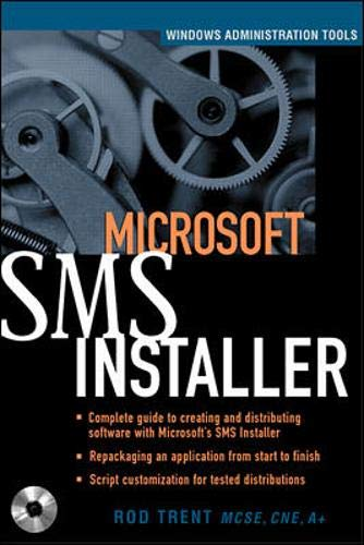 9780072124477: Microsoft SMS Installer (Book/CD-ROM package)