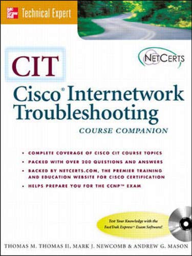 9780072124835: CIT: Cisco Internetworking and Troubleshooting (Book/CD-ROM package)
