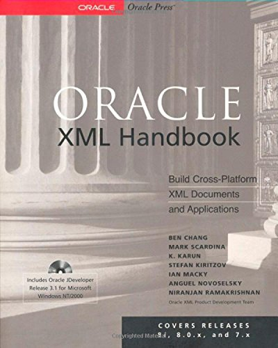 9780072124897: Oracle XML Handbook (Book/CD-ROM package)