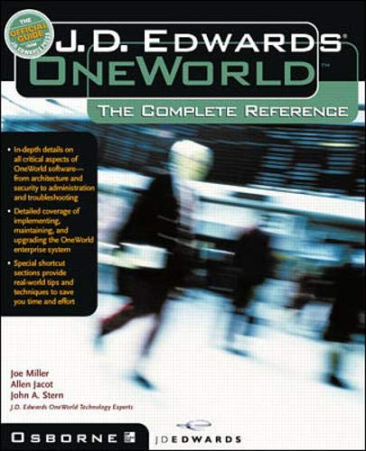 9780072125108: J.D. Edwards OneWorld: The Complete Reference