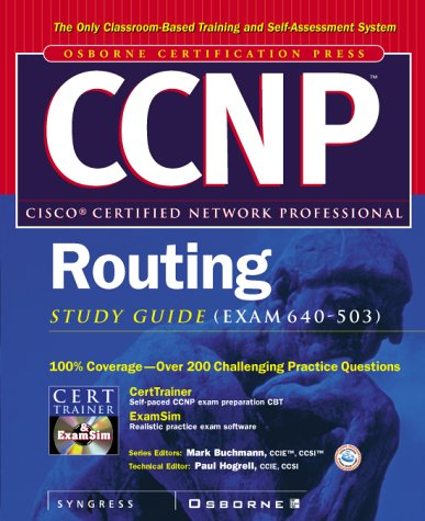 9780072125436: CCNP(TM) Routing Study Guide (Exam 640-503)