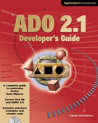 9780072125559: Ado 21 Developer's Guide (Application Development)