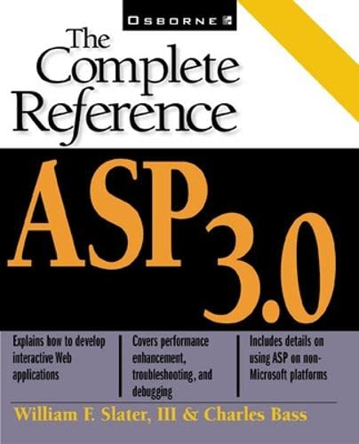 9780072125764: ASP 3.0: The Complete Reference